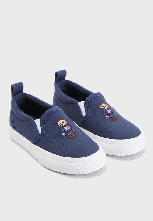 Little Carlee Bear Slip On