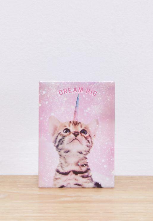 Dream Big Quirky Magnet