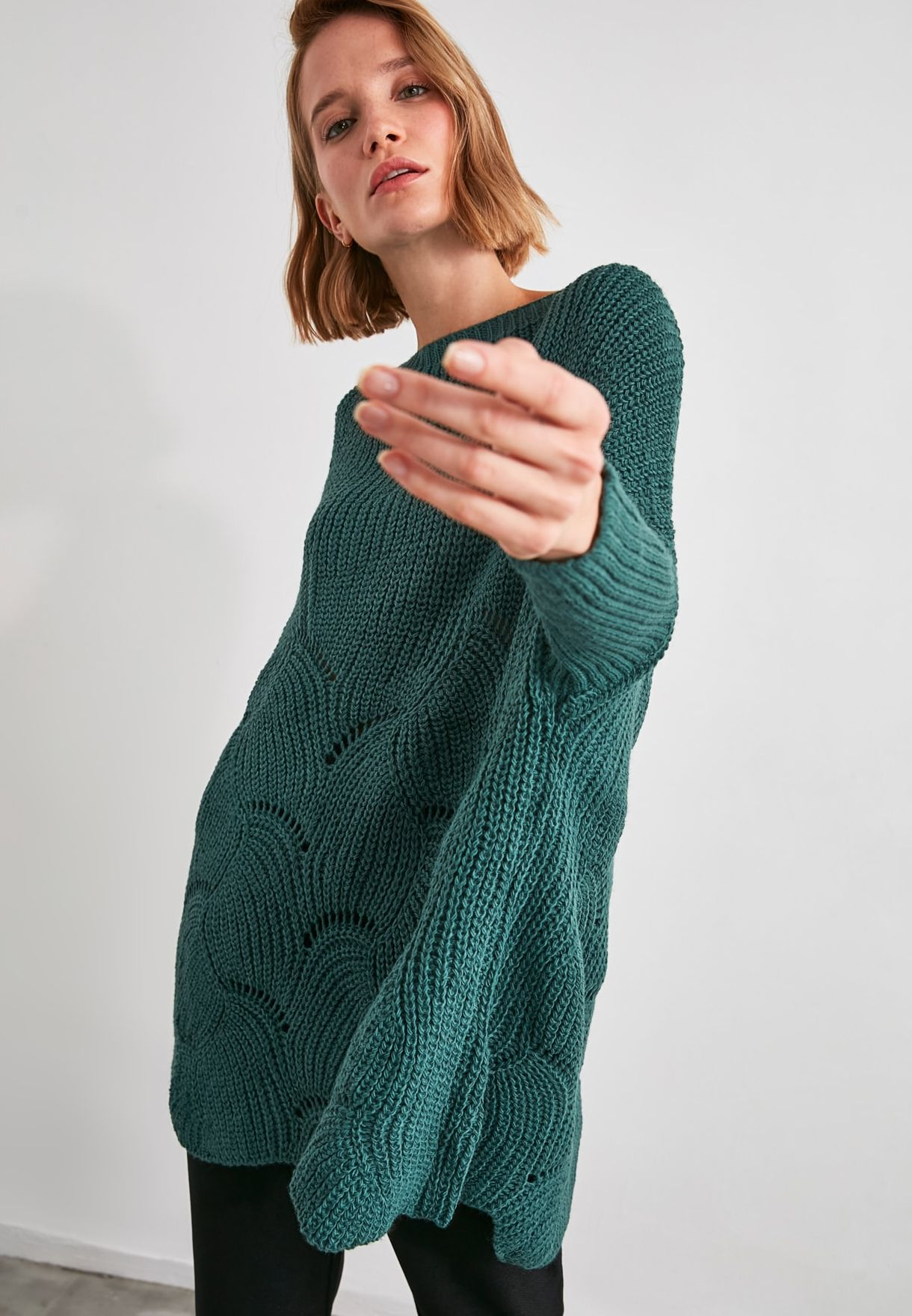 Knit Detailed Sweater