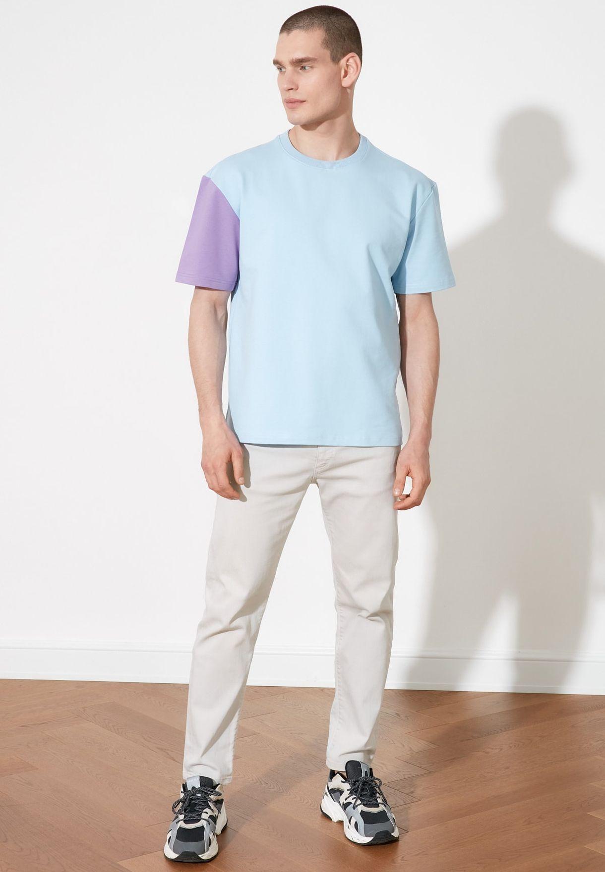 Oversize Half Sleeve Sweatshirt