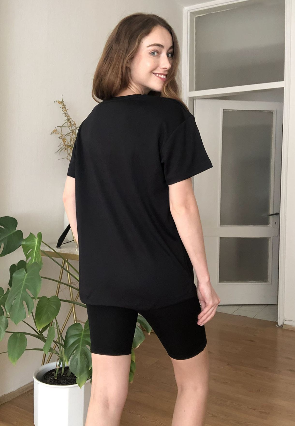 Classic Oversized T-Shirt & Shorts Set