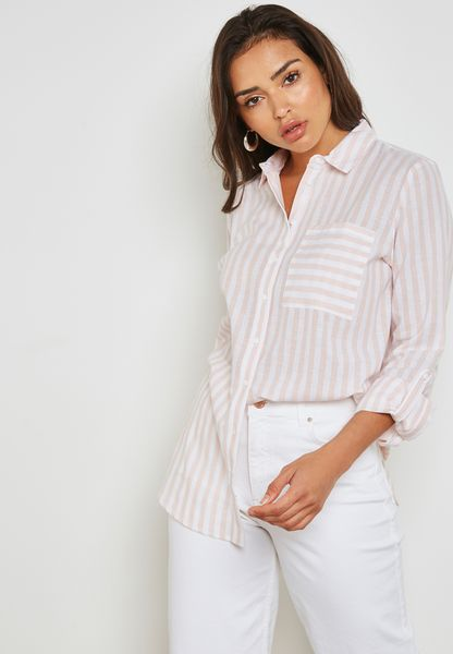 Striped Longline Shirt