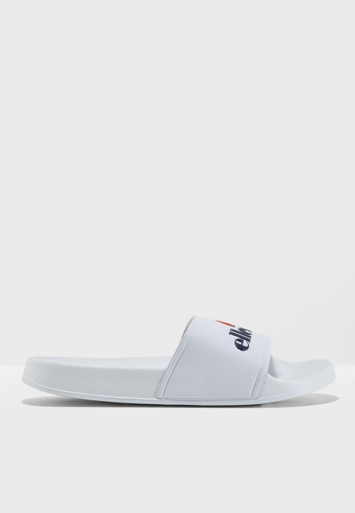 6470d0438399 Shop Ellesse white Fillipo Slides SGFW0350 for Women in UAE ...