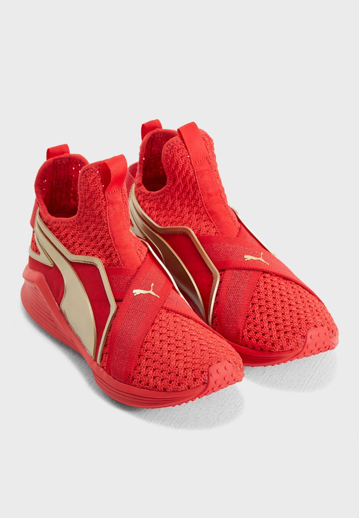 Buy PUMA red Fierce Sleek Varsity for