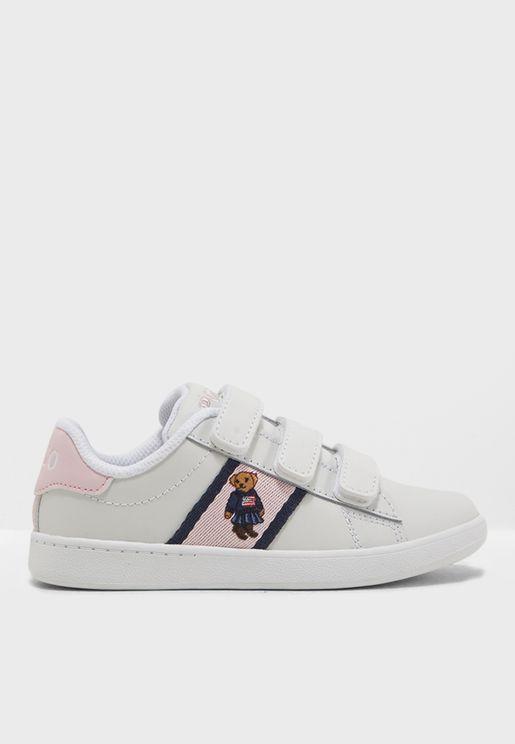 Kids Quilton Bear EZ Sneaker