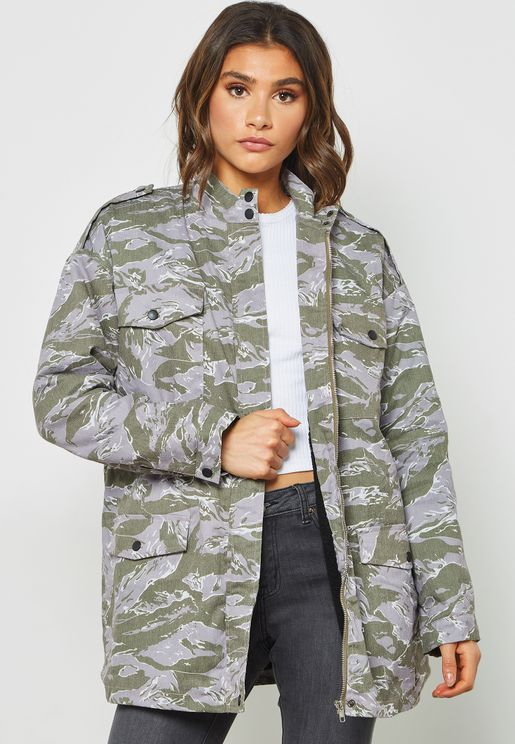 552e9939d65cc Missguided Jackets and Coats for Women | Online Shopping at Namshi ...