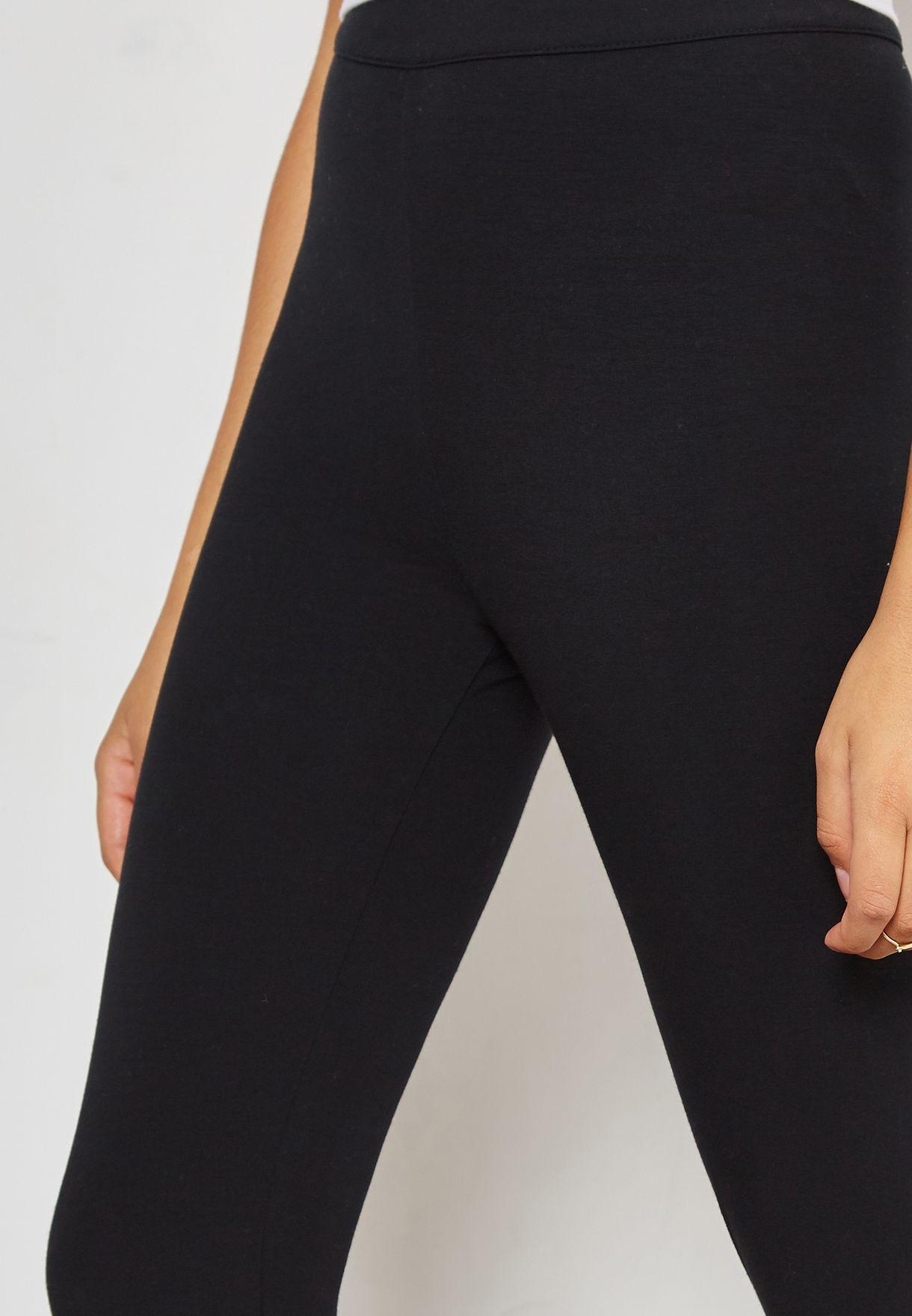 Shop Fila black Dina Back Seem Leggings LW183Y63-001 for ... 2380bce6ed1