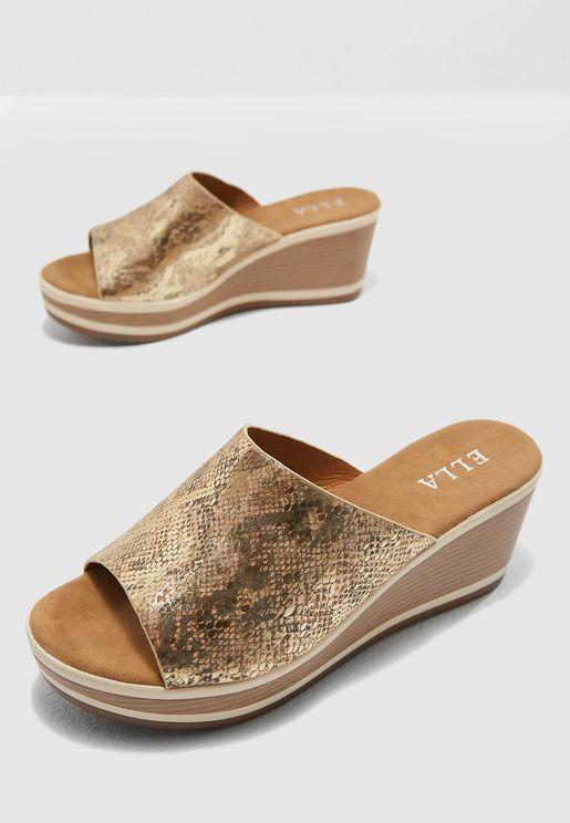 Ayanna Wedge Sandals