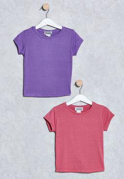 Kids 2 Pack T-Shirts