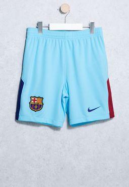 Youth FC Barcelona 17/18 Breathe Stadium Shorts