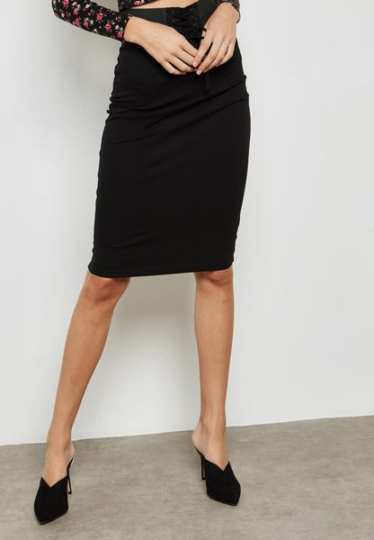 Corset Pencil Skirt