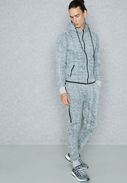 Space Dye Zip Through Tracksuit