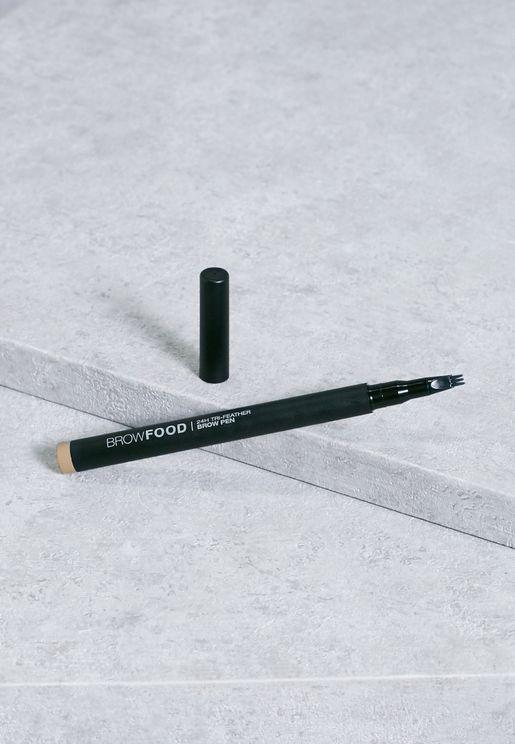 قلم بثلاث ريش للحاجب - اشقر داكن