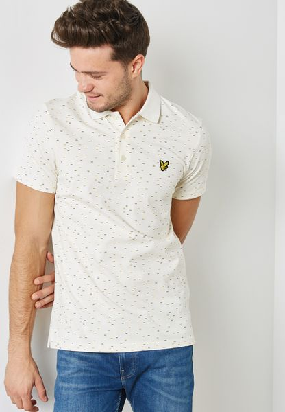 Coupe Logo Print  Polo