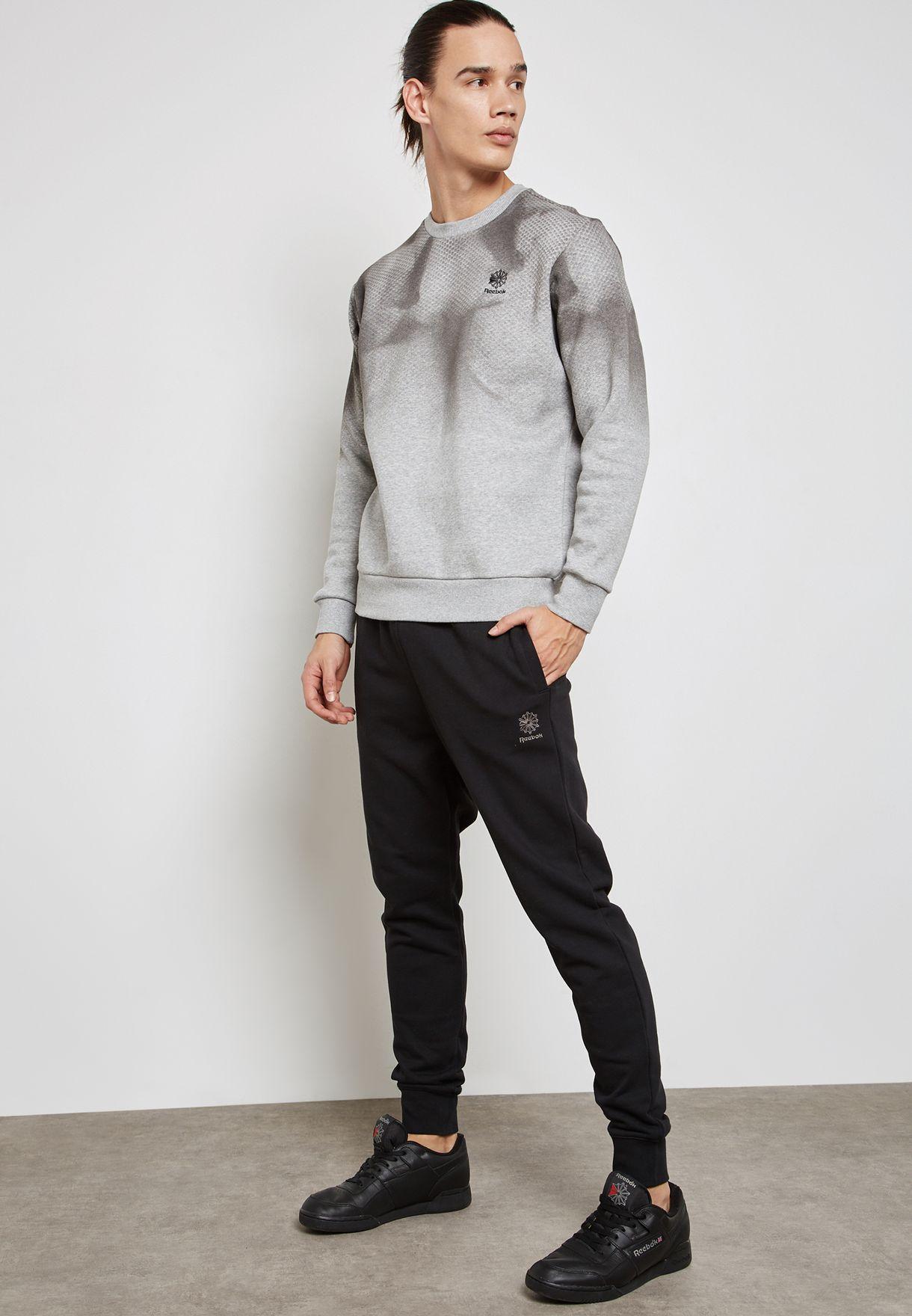 Graphic Fleece Sweatshirt