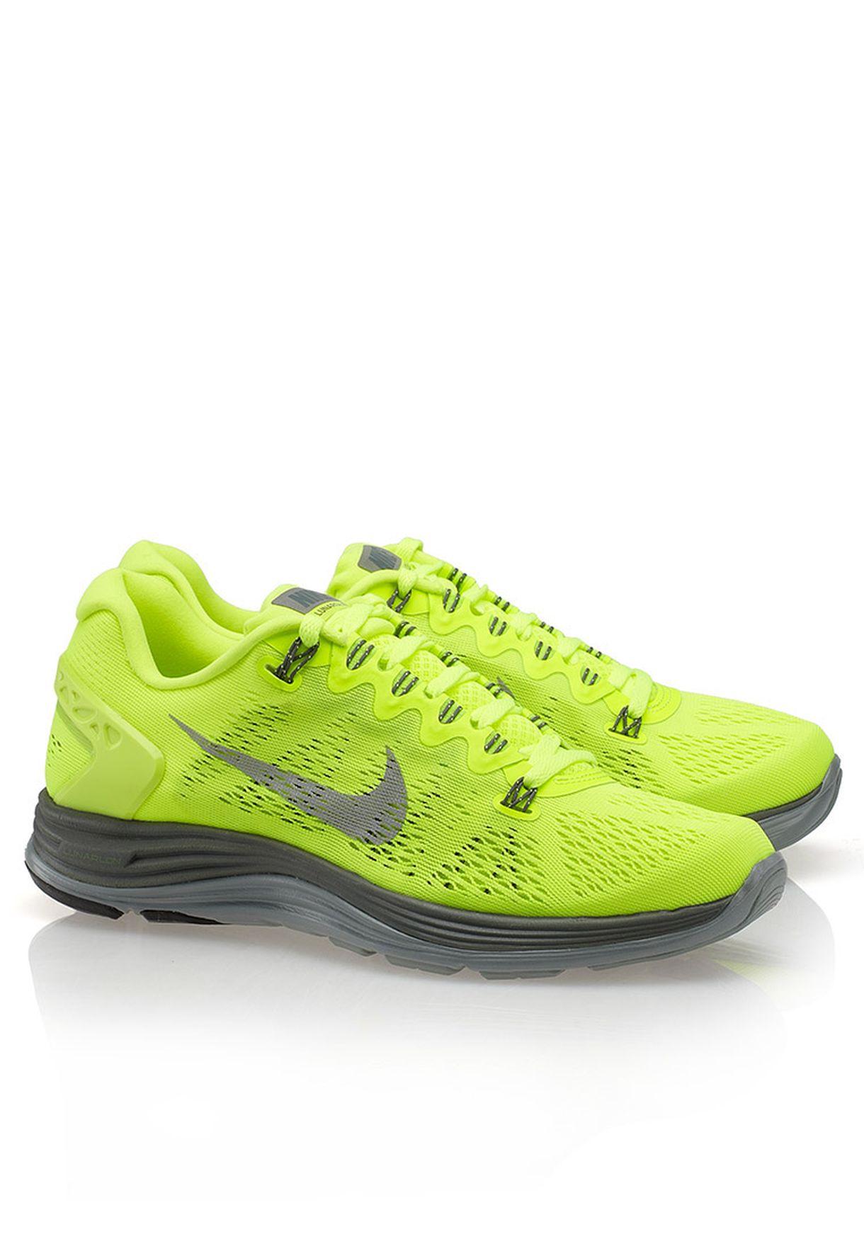 50d31dc44e95 Shop Nike yellow Lunarglide+5 599395-703 for Women in Kuwait ...