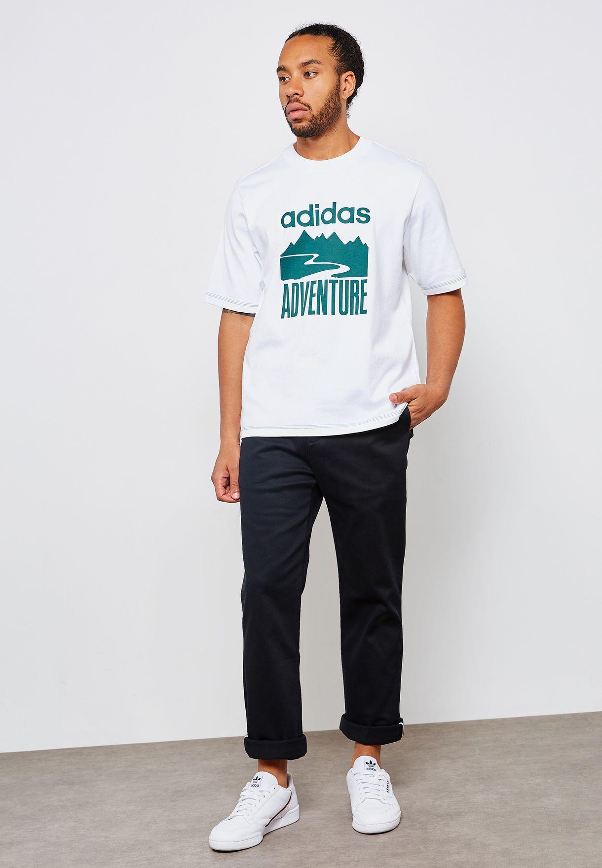 6d5cba255 Shop adidas Originals black Adi Chino Pants BK2746 for Men in UAE ...
