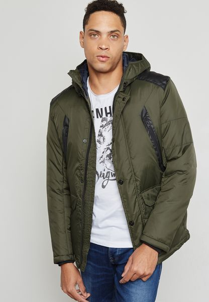 Graf Hoodied Jacket