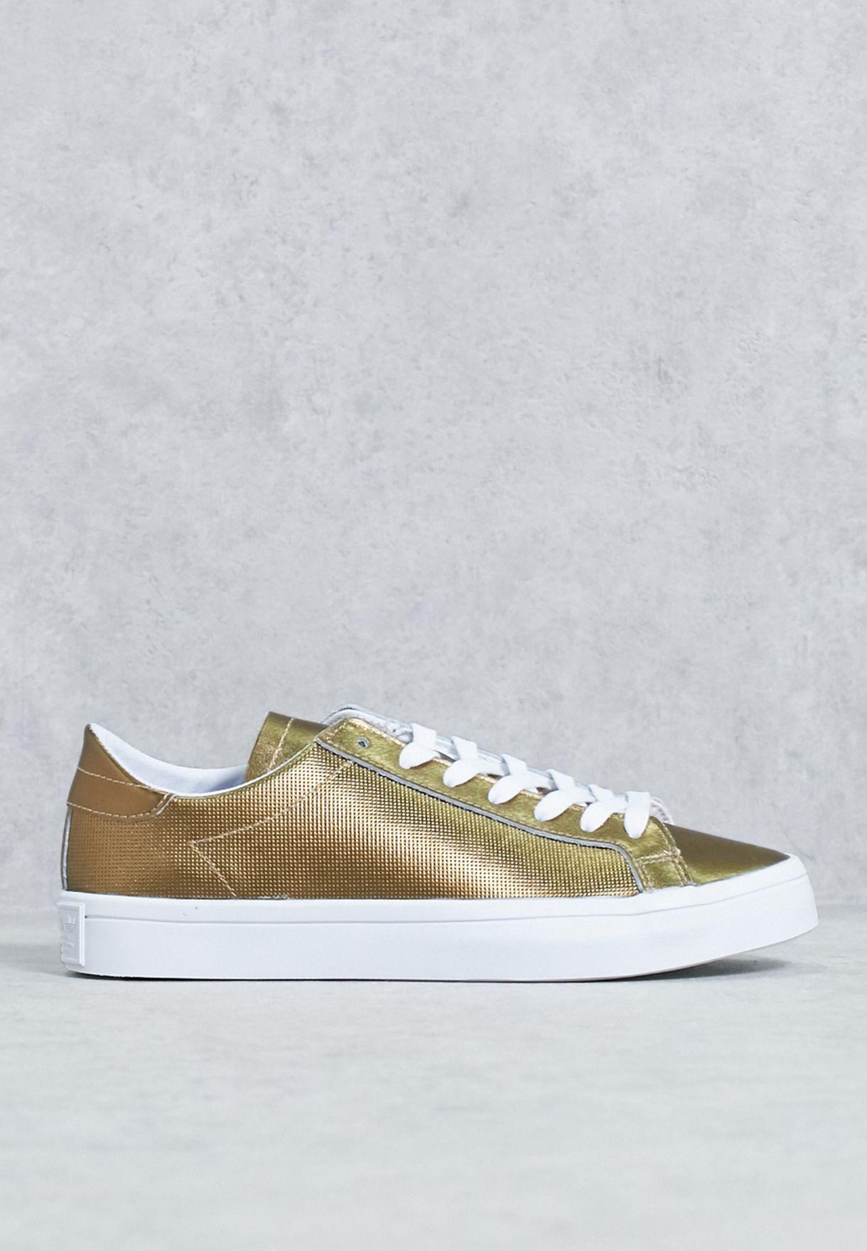 promo code 7b795 d4811 Shop adidas Originals gold Courtvantage BB5201 for Women in Bahrain -  AD478SH96HTN