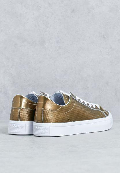 huge discount 2e6cb ab2af cheap Shop Adidas originals gold Courtvantage BB5201 for Women in UAE
