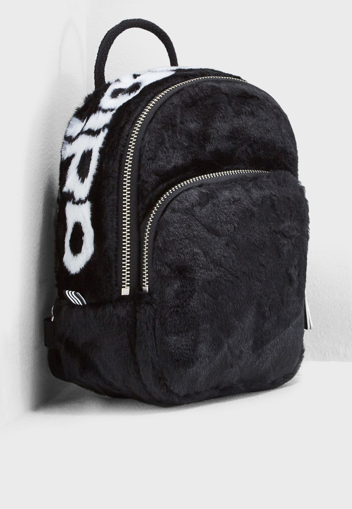 809d28875caa Shop adidas Originals black adicolor classic Mini Backpack DH4372 ...