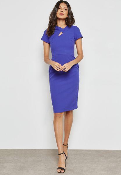 Cut Out Pencil Dress