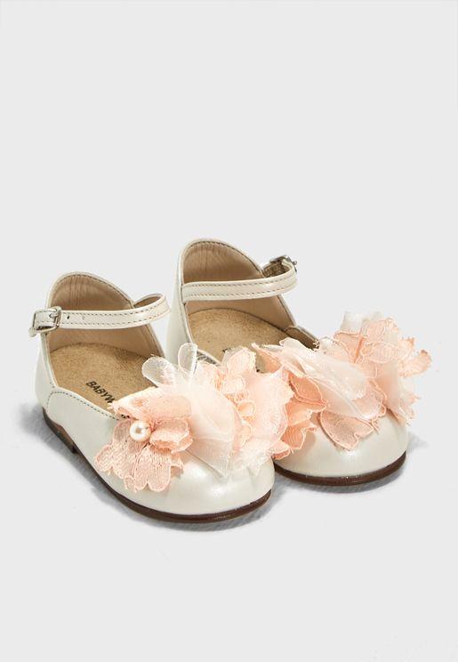 Kids Ankle Strap Ballerina