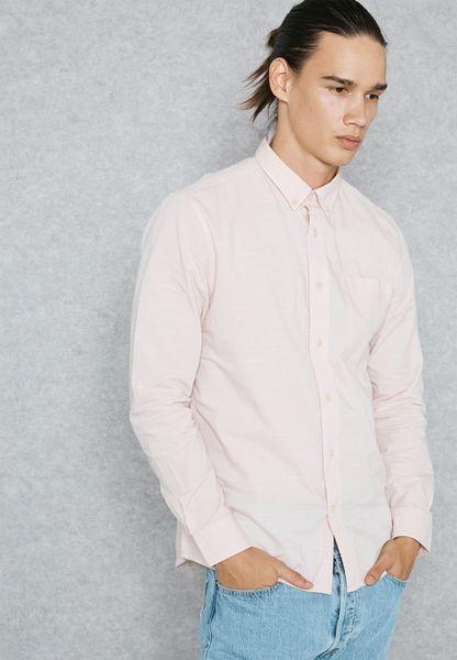 Slub  Shirt