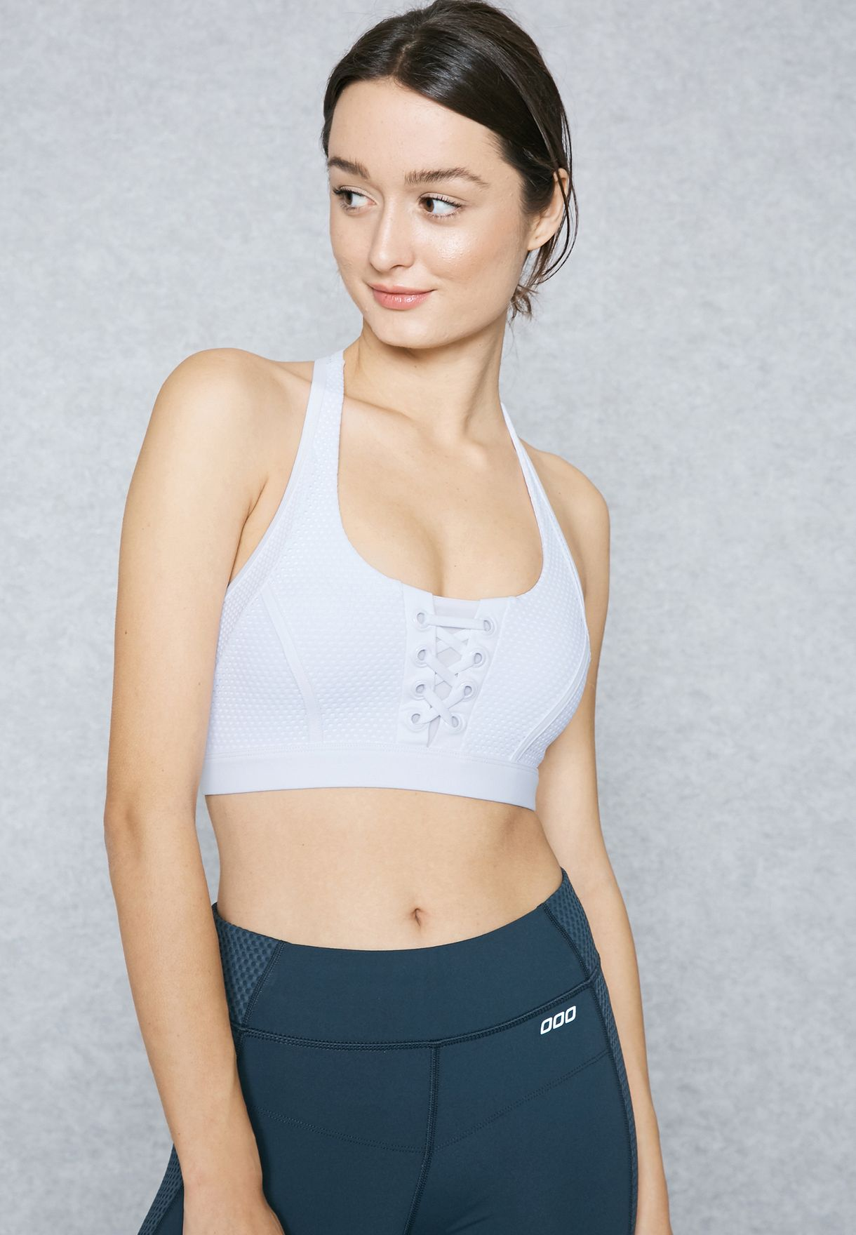 493f2a574c3ce Shop Lorna Jane white Elle Sports Bra 111604 for Women in Qatar -  LO203AT96YWT