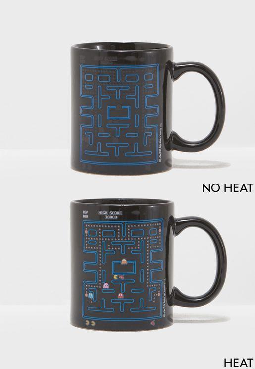 Pac Man Heat Change Mug