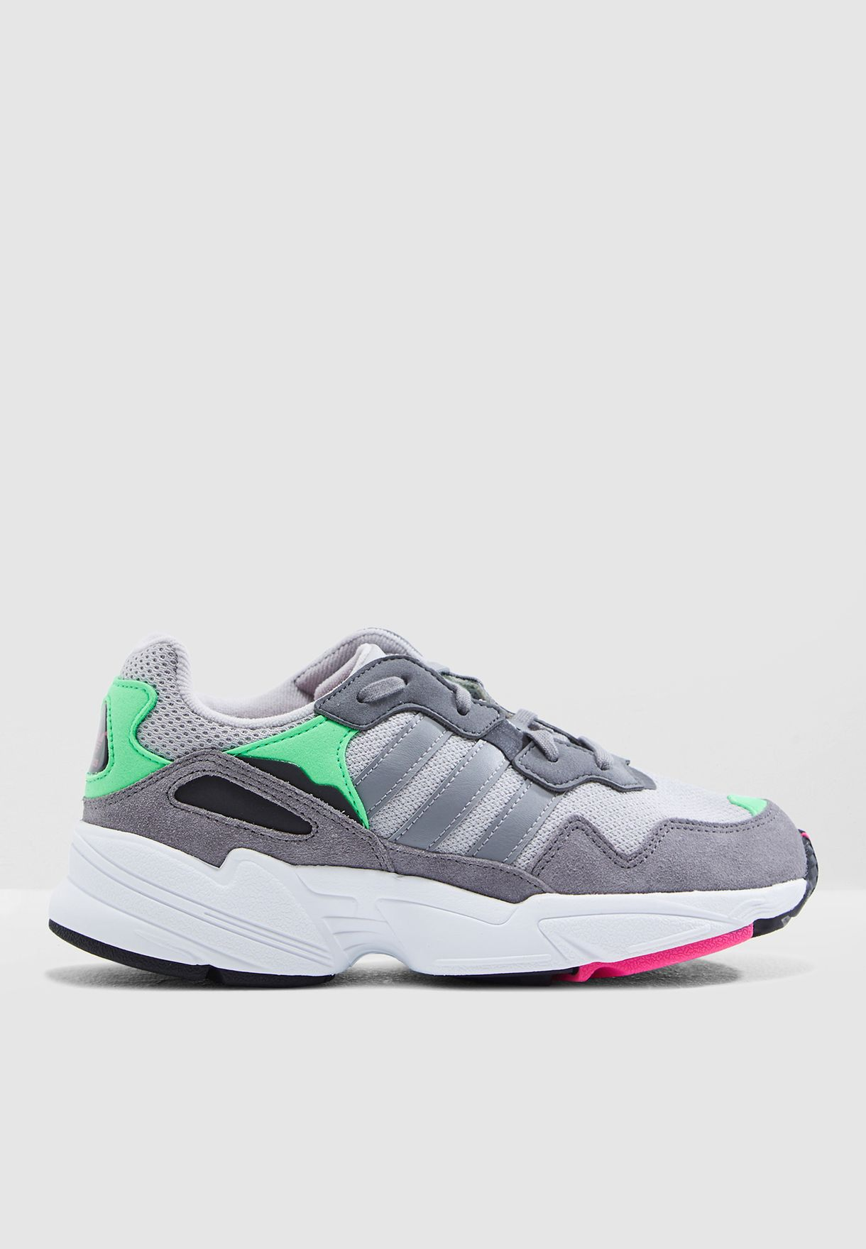 5b2dd0e12a7c Shop adidas Originals grey Youth Yung-96 DB2802 for Kids in UAE ...