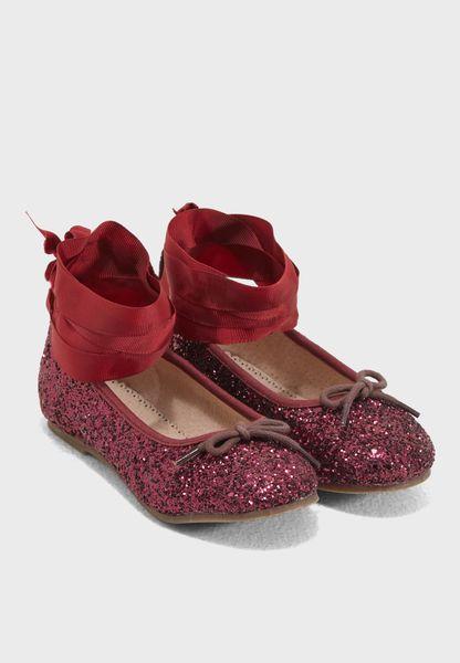 Ballerines D'éléphant, Large M Maid Frm Fille Rose M