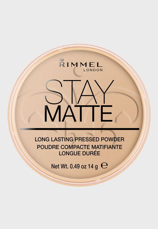 Stay Matte Pressed Powder- 004 Sandstorm