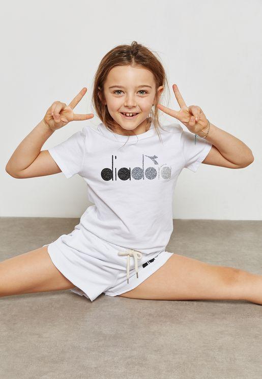 Glitter Logo T-Shirt