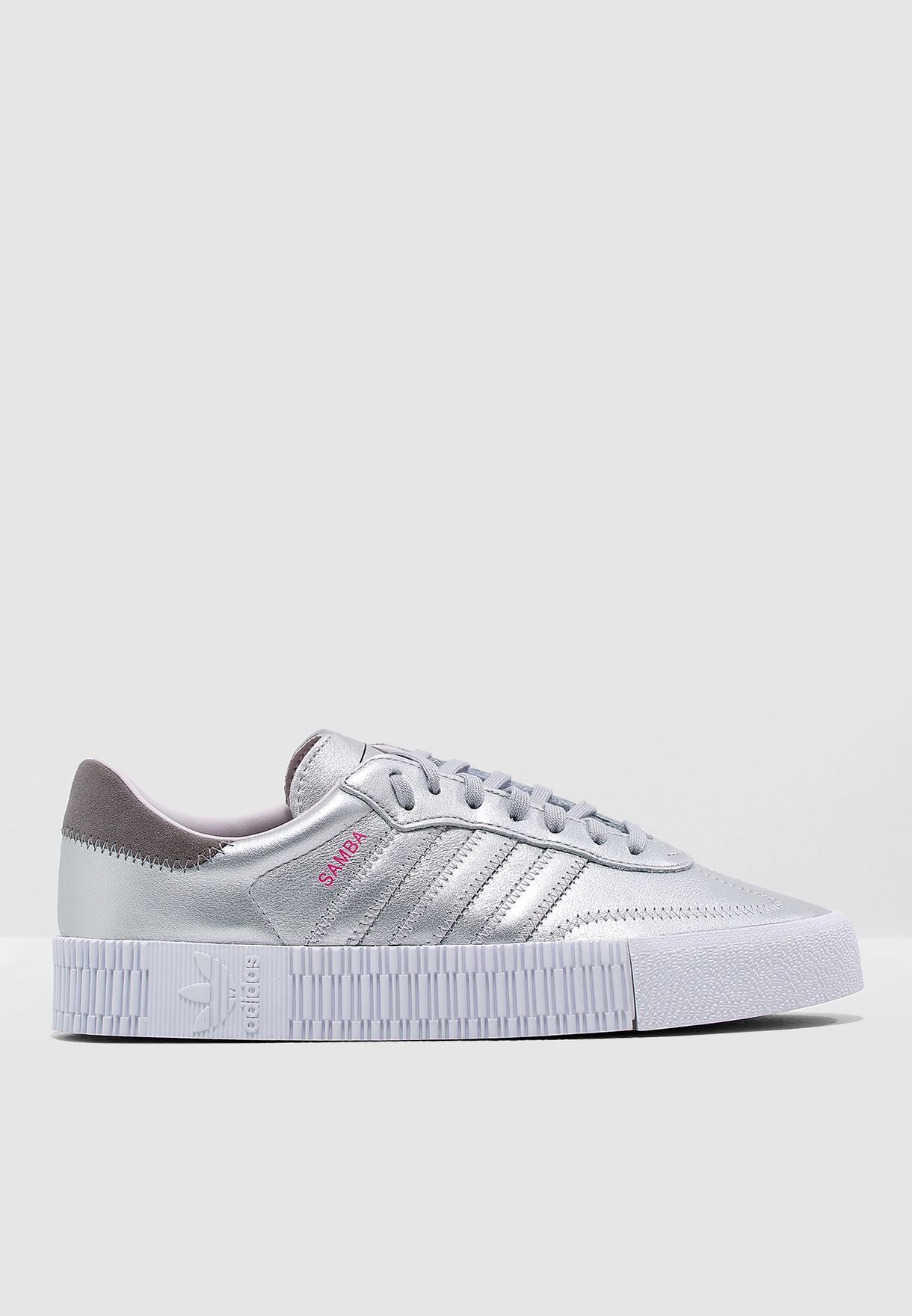 the best attitude 7666f 13fd6 Shop adidas Originals silver Sambarose D96769 for Women in U