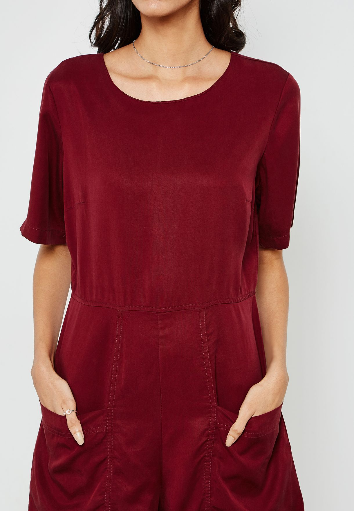 Pocket Detail Playsuit