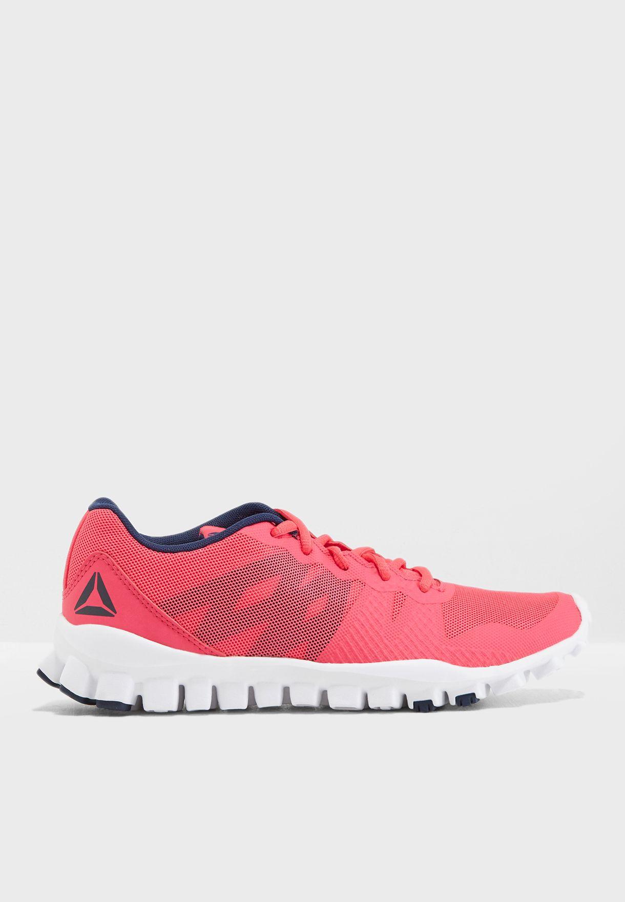 3a30b74d67fe9 Shop Reebok pink Youth Realflex Train 5.0 CN5002 for Kids in UAE ...