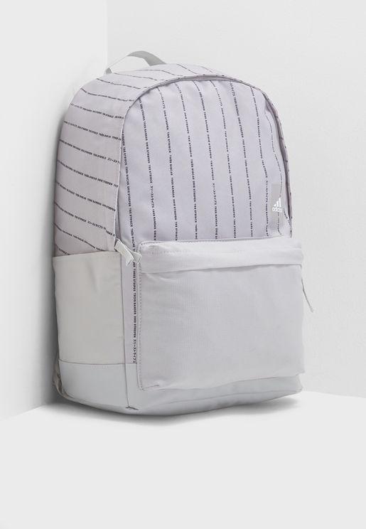 Medium Classic Striped Backpack