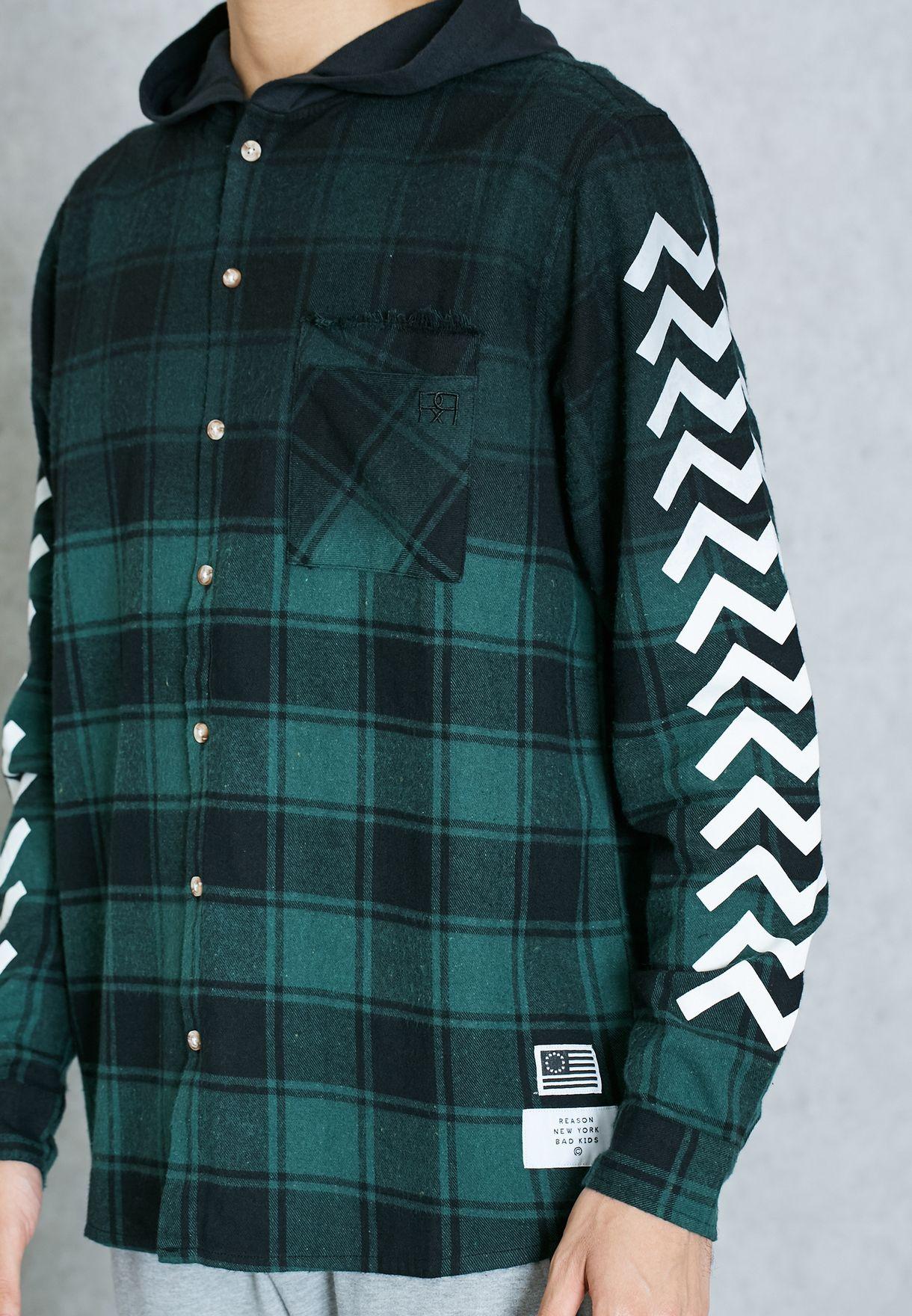 RSN Box Hooded Shirt