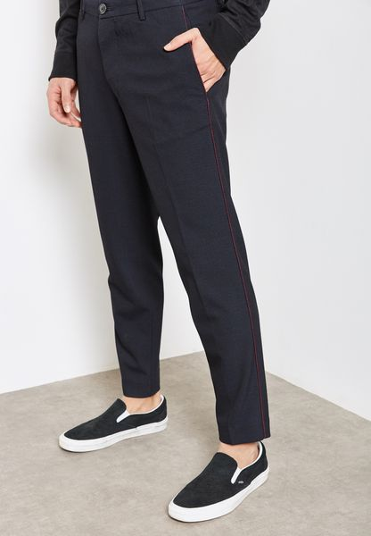 Slim FIt Patterned Chinos