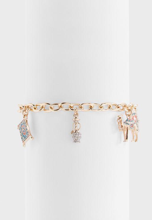Gulf 5 Charm Bracelet