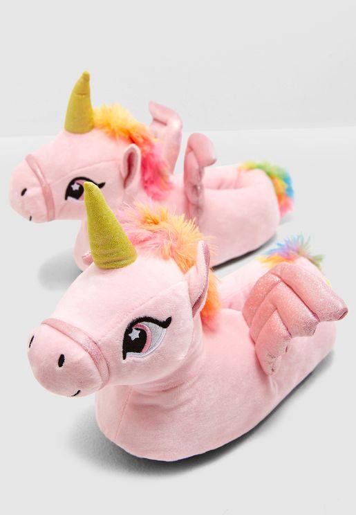 Unicorn Bedroom Slippers