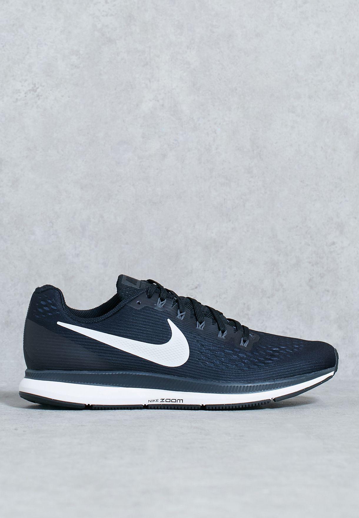 43a74470a782 Shop Nike black Air Zoom Pegasus 34 880555-001 for Men in Kuwait ...