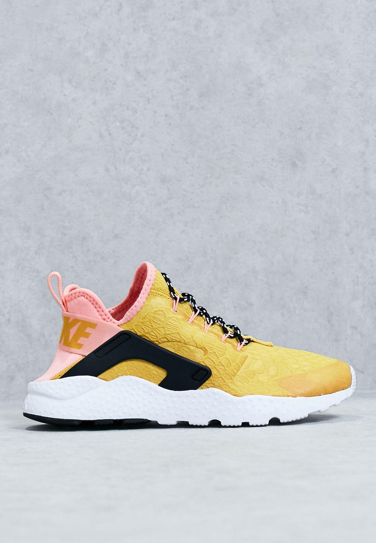 97e9474208f4 Shop Nike yellow Air Huarache Run Ultra SE 859516-700 for Women in ...