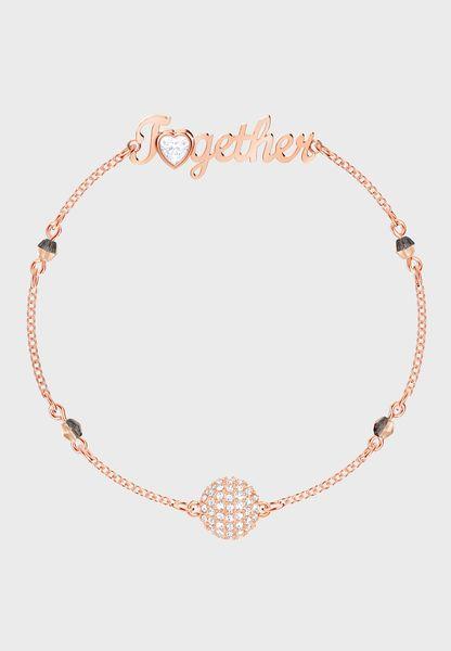 I Love Together Lock Bracelet