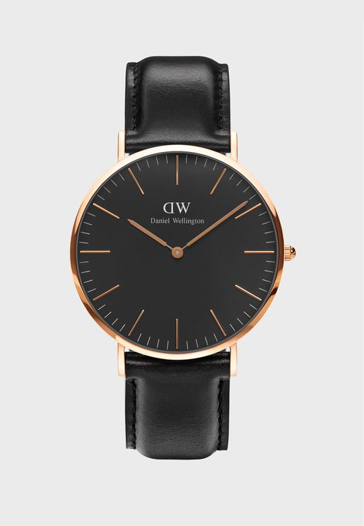 Sheffield Classic Watch 40mm Rose Gold