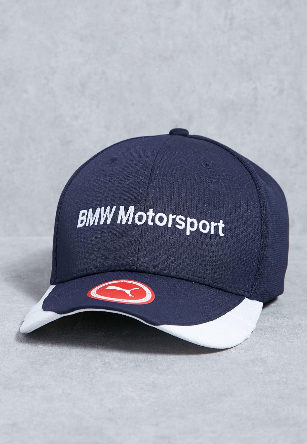 Shop PUMA navy BMW Sharknose Cap 02116402 for Men in Kuwait - PU020AC96WAT 183304b0437b