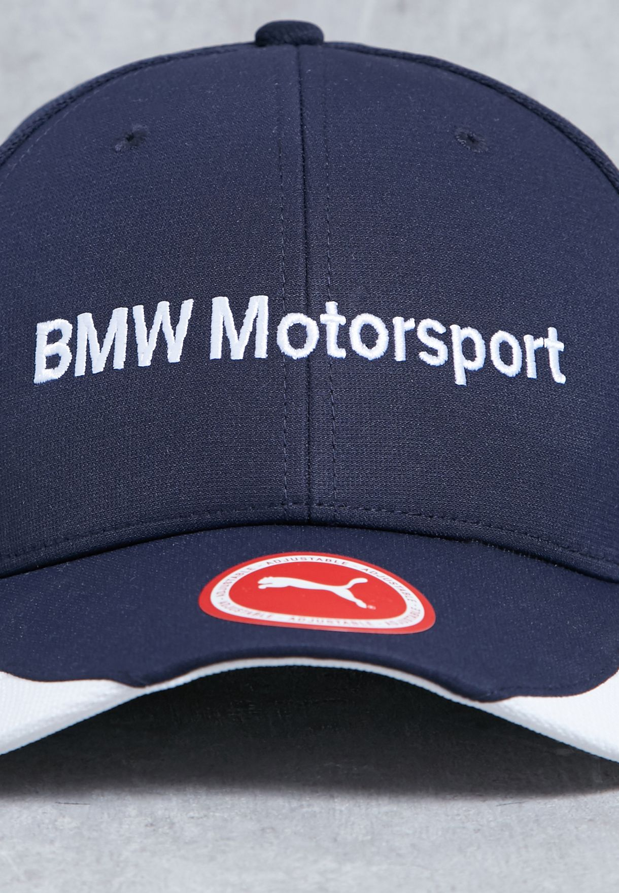 Shop PUMA navy BMW Sharknose Cap 02116402 for Men in Kuwait ... 300383d22df7