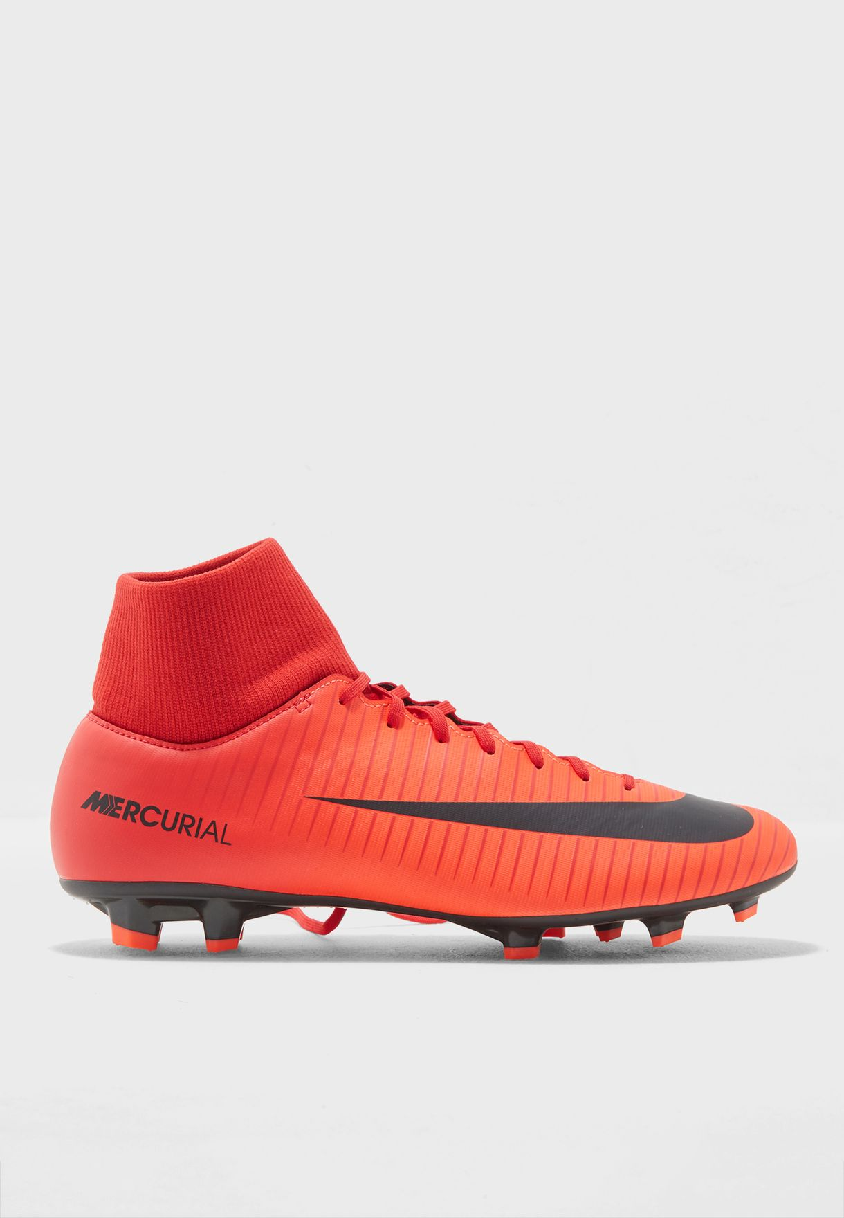 Shop Nike red Mercurial Victory VI DF FG 903609-616 for Men in UAE ... b5327a8178