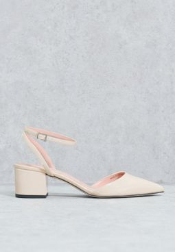 Ankle Strap Point Pumps